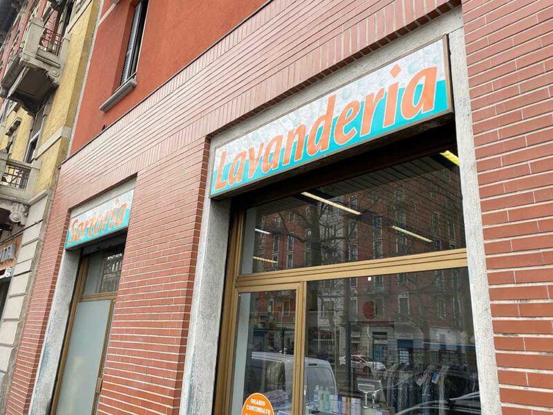 Lavanderia Vecchia Milano Viale Umbria 29